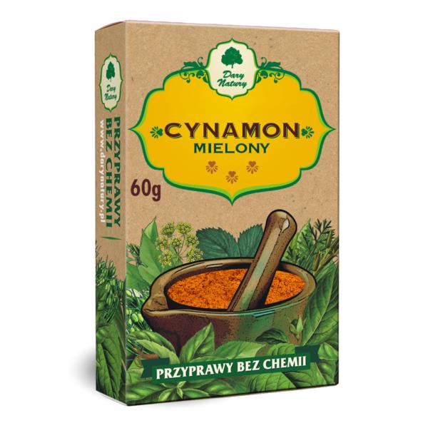 Cynamon mielony 60g Dary Natury