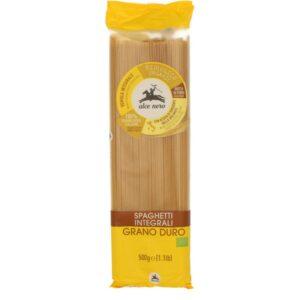 Makaron semolinowy razowy spaghetti 500g Alce Nero