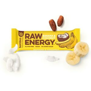 Baton RAW Energy banan-kokos 50g Bombus